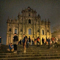 Photo taken at Ruins of St. Paul's by Pang K. on 3/29/2013