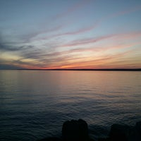 Photo taken at Sylvan Beach NY by Frank C. on 6/10/2013