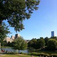 Photo taken at Central Park - North Meadow Fields 1-4 by Tim B. on 8/25/2013