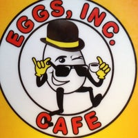 Photo taken at Eggs, Inc. Cafe by Edward A. on 4/12/2013