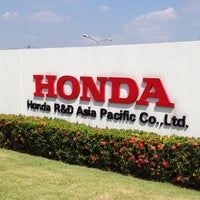 Photo taken at HRAP (Honda R&D Asia Pacific Co.,Ltd) by Pisit S. on 12/18/2013