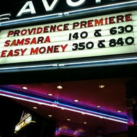Photo taken at Avon Cinema by Katheryn B. on 10/31/2012