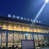 Photo taken at Domodedovo International Airport (DME) by Galina T. on 7/23/2013