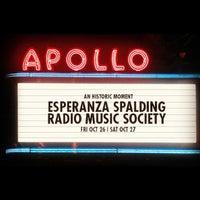 Photo taken at Apollo Theater by Merrick W. on 10/27/2012