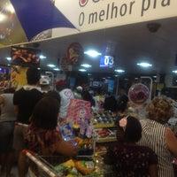 Photo taken at Arco Iris Supermercado by Thiago P. on 11/2/2012