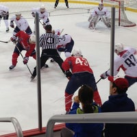 Photo taken at Kettler Capitals Iceplex by Lindsay M. on 7/10/2013