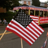 Photo taken at Ridgefield Park, NJ by Lauren  on 7/5/2015