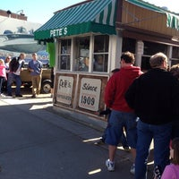 Photo taken at Pete's Hamburger Stand by Debra S. on 10/13/2013