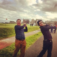 Photo taken at The Old Course St Andrews by Al A. on 9/26/2012