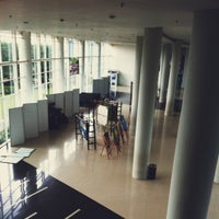 Photo taken at Universitas Multimedia Nusantara by Hanintya N. on 12/16/2012