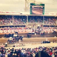 Photo taken at Stampede Park by Jacquie R. on 7/14/2013
