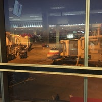 Photo taken at Gate C17 by Justin G. on 8/1/2016
