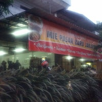 Photo taken at Mie Pasar Baru Jakarta by W. A. P. on 2/16/2013