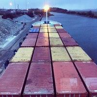 Photo taken at Ellesmere Port by Orkun Ç. on 3/21/2014