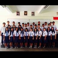 Photo taken at SMAK Yos Sudarso Batam by Hendi O. on 12/16/2013