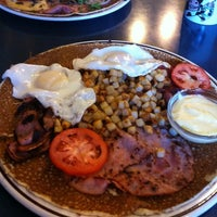 Photo taken at Dutch Wooden Shoe Cafe by Mk P. on 10/8/2012
