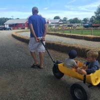 Photo taken at Connors Farm by Olexy S. on 8/8/2015