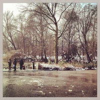 Photo taken at Oosterpark by Ria B. on 2/10/2013