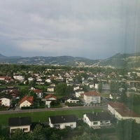 Photo taken at Four Points by Sheraton Panoramahaus Dornbirn by Michael Z. on 7/17/2015