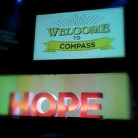 Photo taken at Compass Christian Church by Christie V. on 3/31/2013