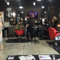 Photo taken at La Moda Salon by STEVE K. on 2/2/2016