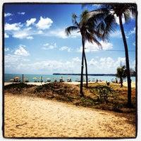 Photo taken at Praia de Tambaú by Filipe M. on 12/10/2012