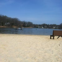 Photo taken at Dolphin Beach, Montclair by Caitlin M. on 4/9/2013