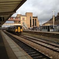 Photo taken at Harrogate Railway Station (HGT) by Vinh D. on 11/25/2012