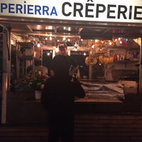 Photo taken at Perierra Crêperie by Courtney on 5/15/2016