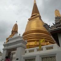 Photo taken at Wat Bowon Niwet by STD on 9/15/2012