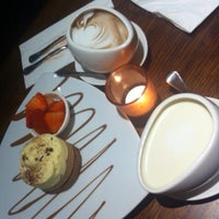 Photo taken at Max Brenner Chocolate Bar by Angelbaby L. on 5/22/2013