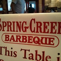 Photo taken at Spring Creek Barbeque by Allen A. on 4/22/2013