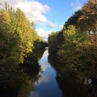 Photo taken at River Mersey by Darren H. on 10/23/2016