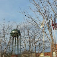Photo taken at Collierville Town Square / Confederate Park by Sam D. on 3/16/2013