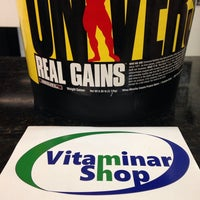 Photo taken at Vitaminar Shop by Michael B. on 4/1/2014