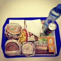 Photo taken at Burger King by Inna K. on 1/13/2013