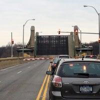 Photo taken at Pelham Bridge by Glenn G. on 1/1/2013