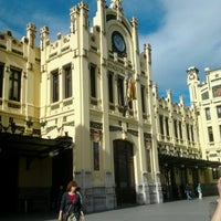 Photo taken at Valencia North Railway Station (YJV) by Stefani V. on 5/7/2013