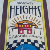 Photo taken at Broadway Heights California Cuisine by Courtney C. on 11/26/2012
