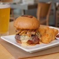 Photo taken at Umami Burger by LAist on 8/1/2014