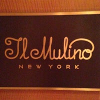 Photo taken at Il Mulino New York by MR. E. on 5/9/2016