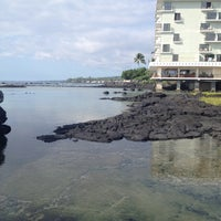 Photo taken at Outrigger Keauhou Beach Resort by Theresa . on 10/30/2012