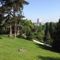 Photo taken at Buttes Chaumont Park by Jean C. on 6/5/2013