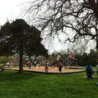 Photo taken at Gulley Park Playground by Martha S. on 4/17/2013