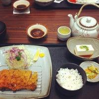 Photo taken at Tonkatsu by Wa Kitchen by Eugene H. on 7/27/2013