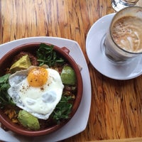 Photo taken at Medina Café by Brian S. on 5/4/2014