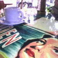 Photo taken at LeBon Café by Laura R. on 4/29/2013