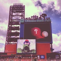 Photo taken at Citizens Bank Park by Jennifer W. on 7/13/2013