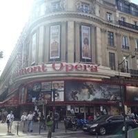 Photo taken at Gaumont Opéra (côté Capucines) by Christophe D. on 7/28/2013