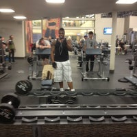 Photo taken at LA Fitness by Dave T. on 3/28/2013